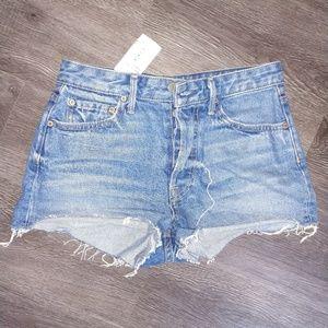 GRLFRND Jean Shorts